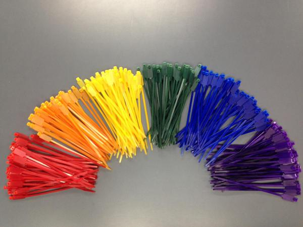 Cable tie colour sample