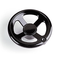 1131  Phenolic 4 Spoke Hand Wheel
