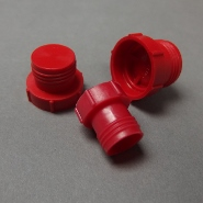 Flat Faced Plugs for O-Ring Hydraulic Fittings