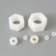 Hex Nuts - Nylon Metric