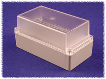 ABS with Clear Lid