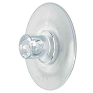 Clear Suction Cup with Hole